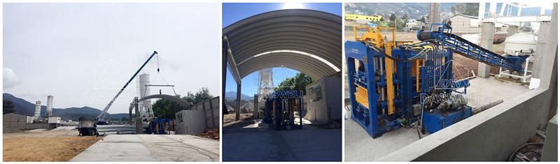 Exportamos DBF6-15 maquinarias bloqueras al México