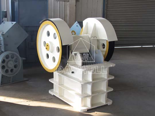 Máquina de trituradora se utiliza en minería
