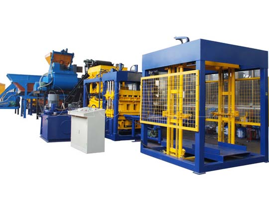 Máquinas bloqueras automáticas tienen alta capacidad de hacer bloques