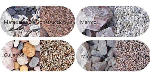 Trituradora de impacto puede manejar diversos materiales