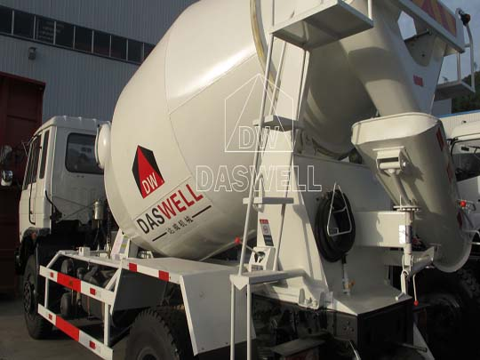 Olla mezcladora es una parte indispensable para camión mixer