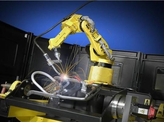 Robot de soldadura tiene alta eficiencia