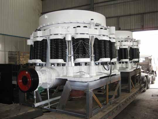 Nuestras trituradoras Symons son capaz de alcanzar más alto estándar de calidad.