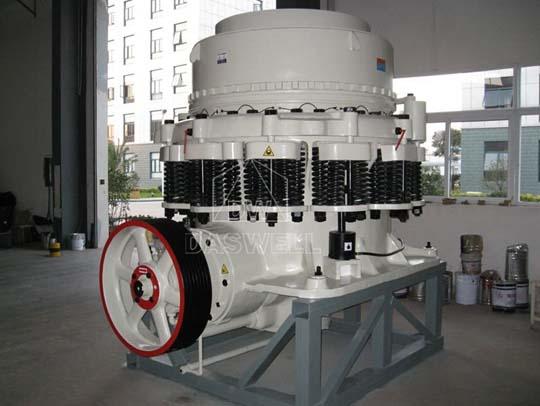 Trituradora de cónica tiene alta eficiencia de trituración