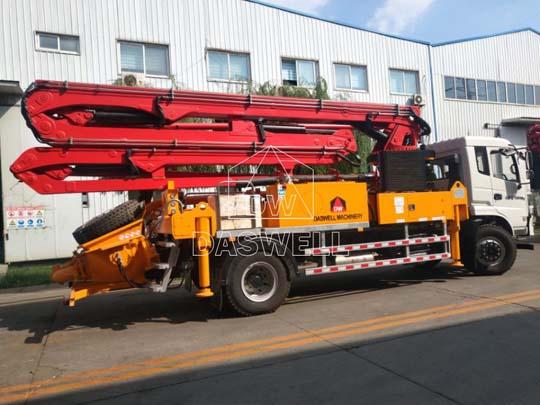 Exportamos autobomba de concreto profesional