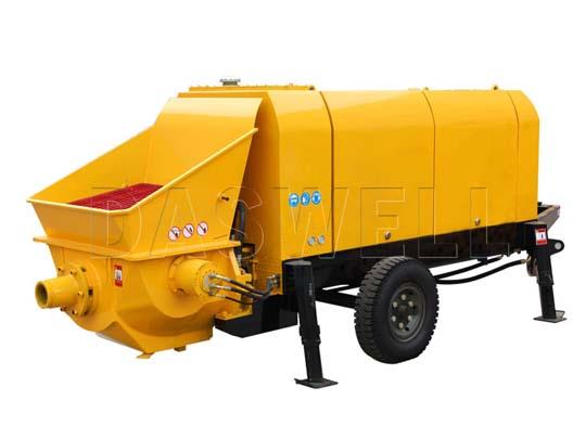 Exportamos bombeadora de concreto estacionaria