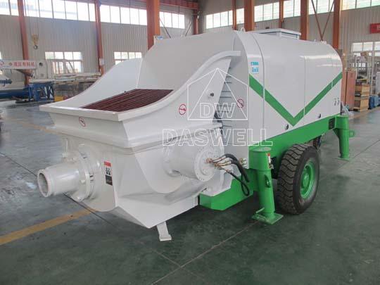 Exportamos bombeadora estacionaria de concreto