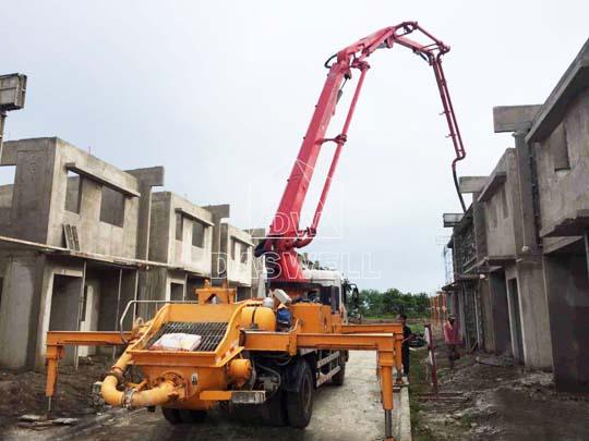 Vendemos bombeadoras de concreto en México