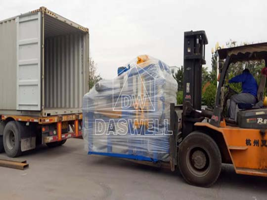 Enviar la mercancía al puerto de destino