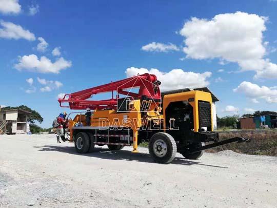 Exportamos bombeadoras de concreto a Filipinas