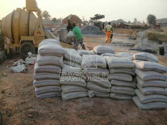 Exportamos mezcladora concreto diésel a Zambia