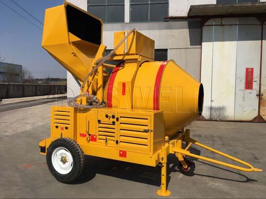 Fabricamos y exportamos las mezcladoras de concreto.