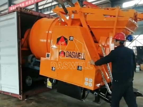 Exportamos mezcladora de concreto a Filipinas