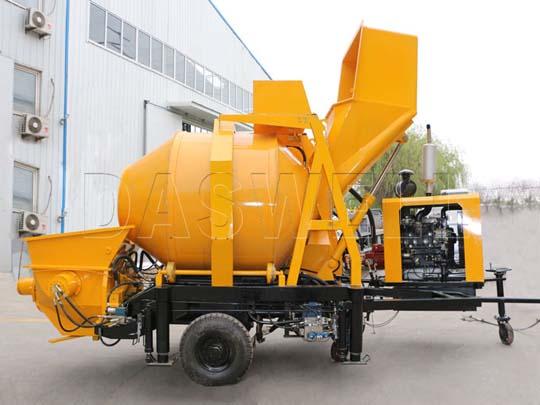 Fabricamos mezcladora de concreto