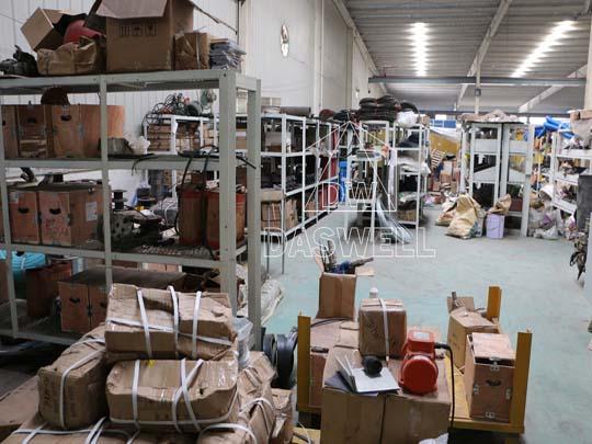 Tenemos un gran almacén en México