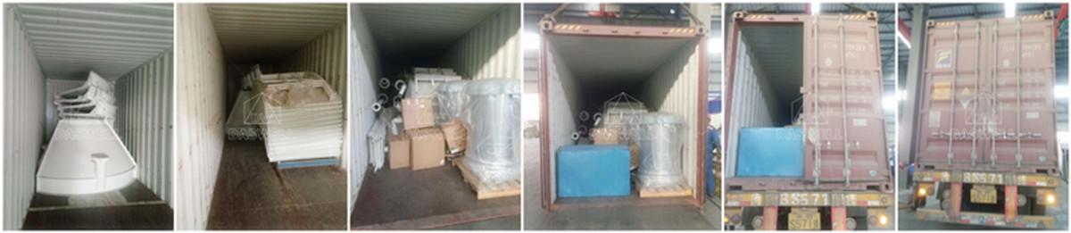 Exportar silos atornillados